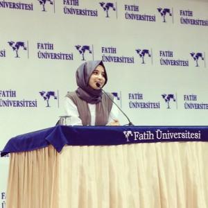 Konferans / 2013- Fatih Üniversitesi