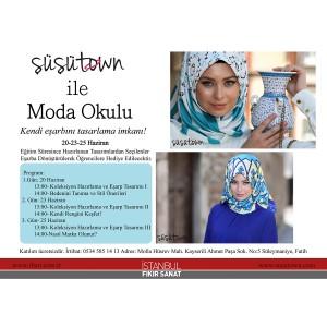 Eğitim / 2014- Şüşütown ile Moda Okulu