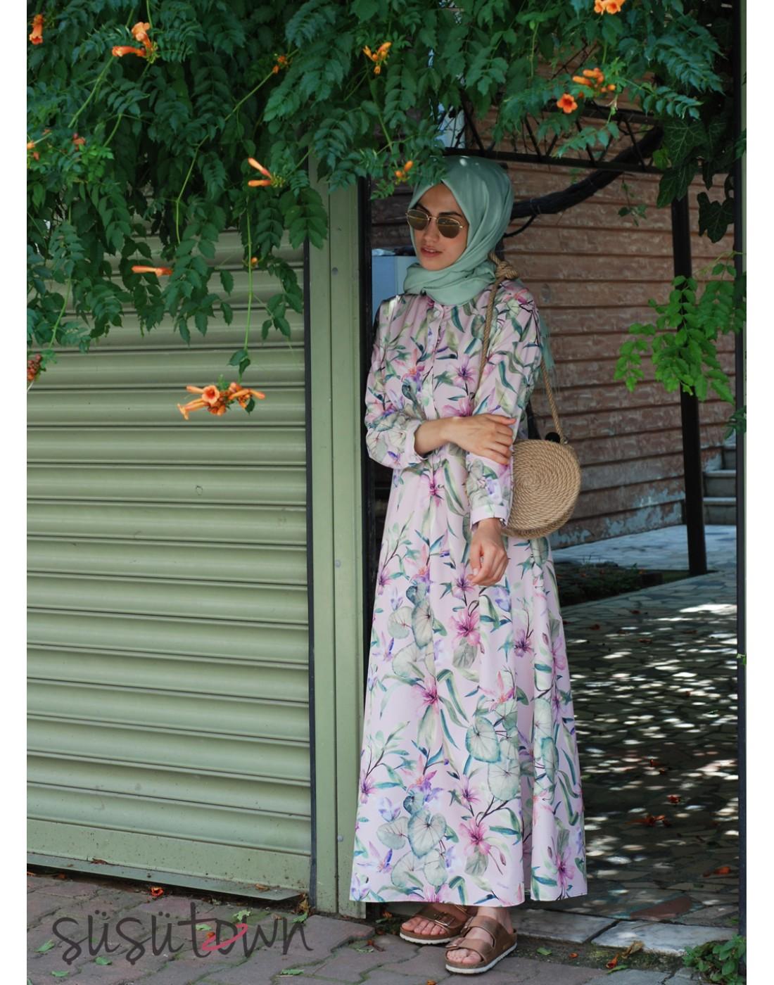 Oversize Zambak Elbise