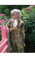Oversize Vintage Elbise