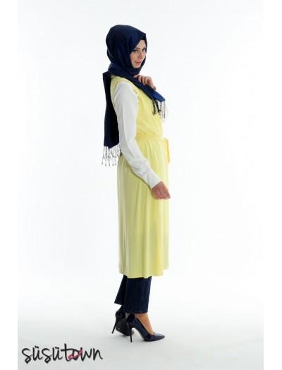Narin Yelek- Limon Sarısı