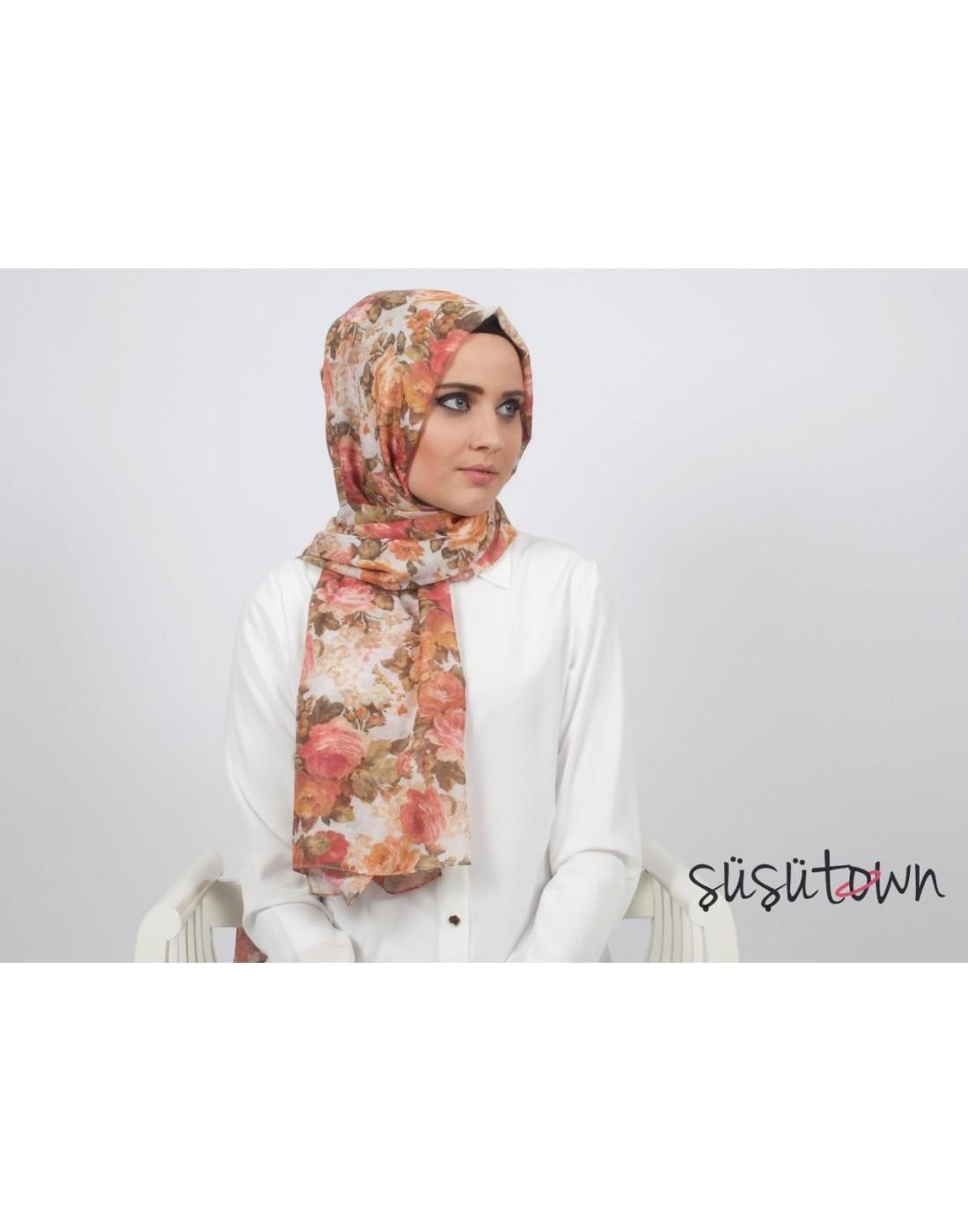 Rose Şal