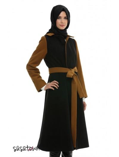 Çınar Siyah Camel Kaban