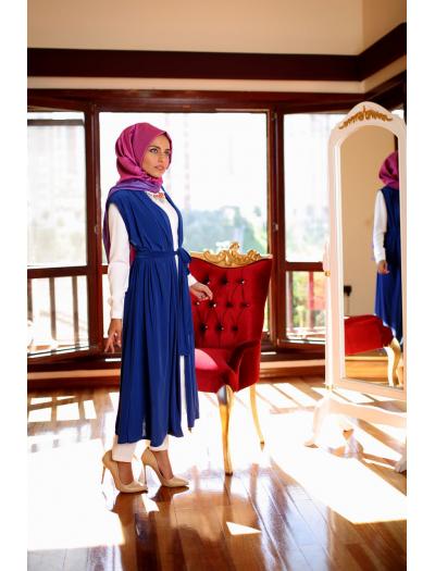 Narin Yelek Saks Mavisi