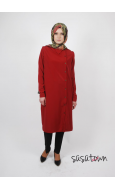Ivory Bordo Tunik