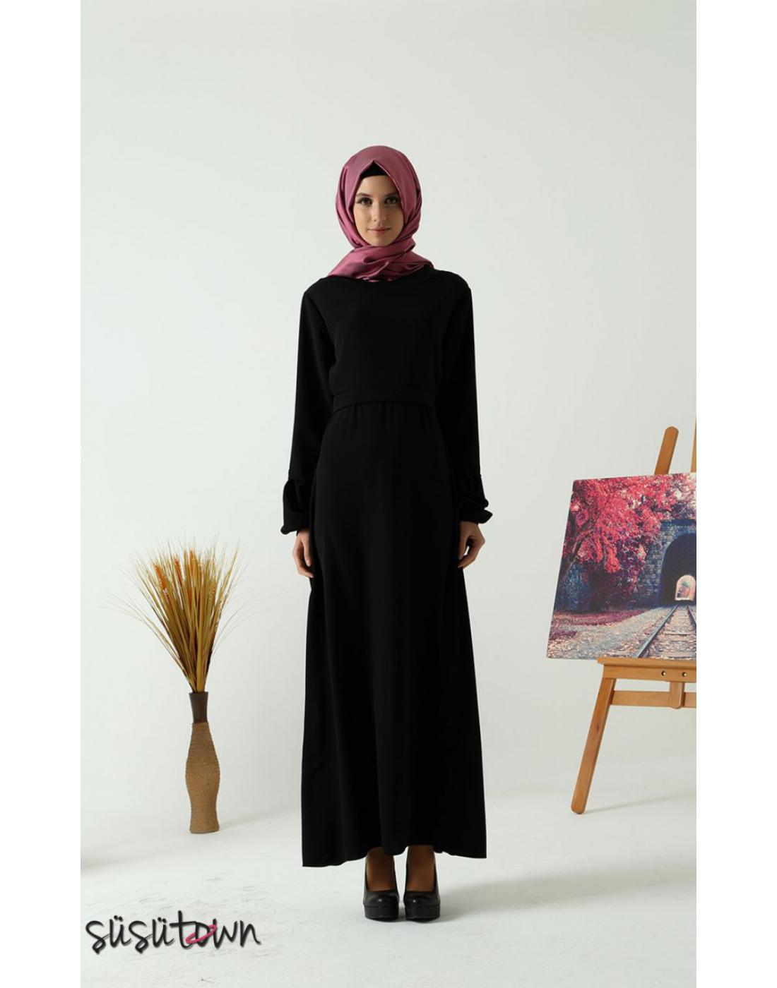 Başak Siyah Elbise