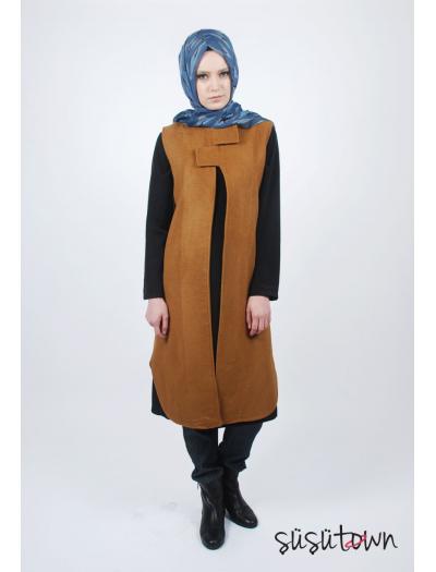 Camel Kontes Yelek